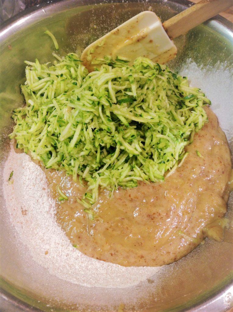 zucchini oat bread  oilfree no refined sugar or syrup