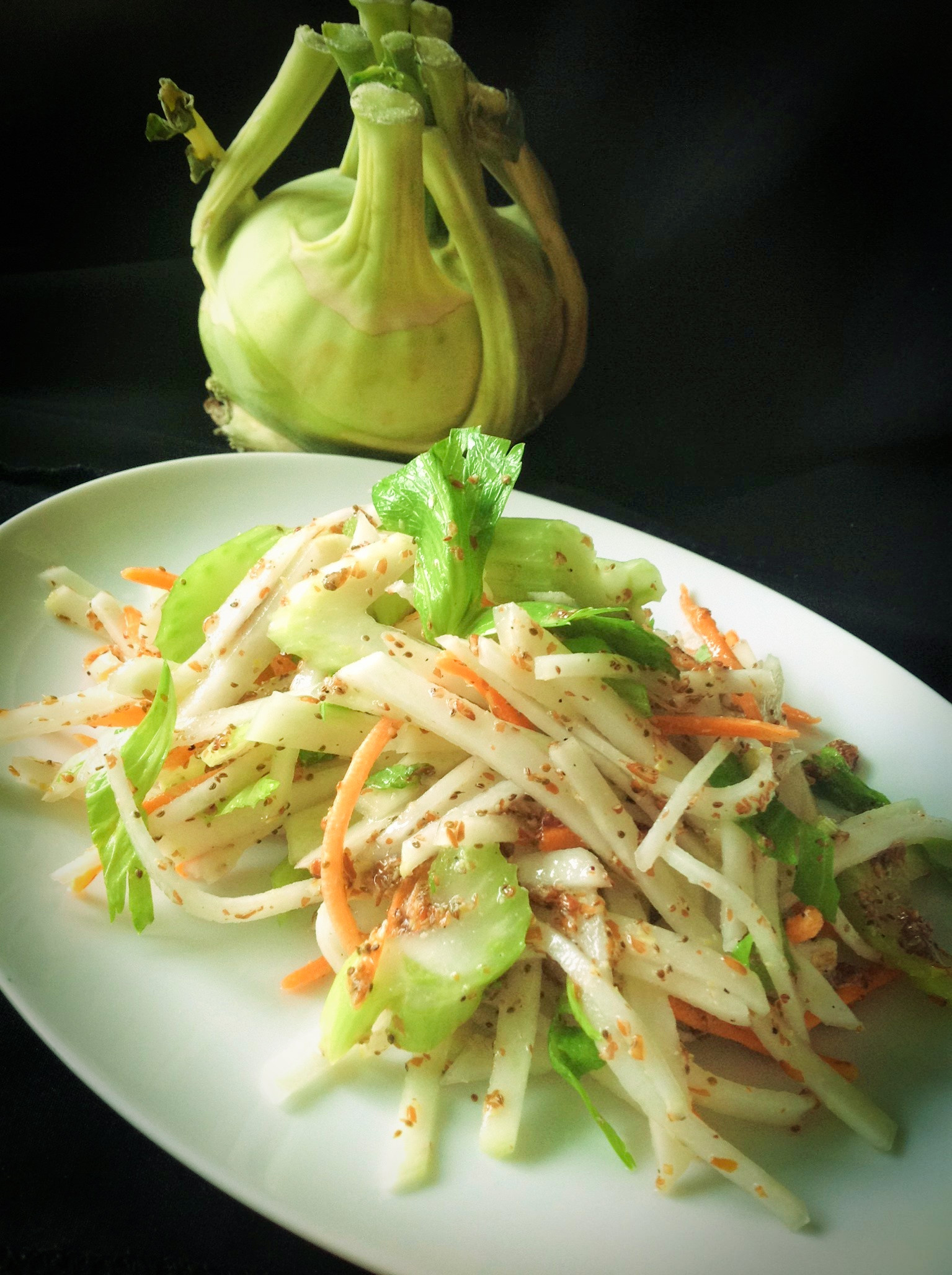 Easy Light Kohlrabi Slaw Plants Rule